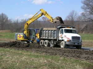 Pine Bush NY excavating contractor